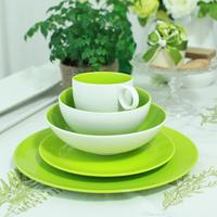 Dain tableware bone china tableware set fresh green dish