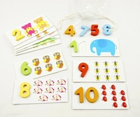 Educational toys number puzzle digital