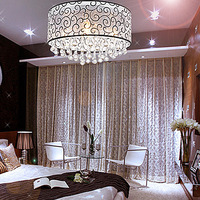 Crystal lamp modern brief ceiling light romantic lighting lamps 8610
