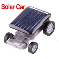 Mini Car Solar Powered Toy Car Children Solar Toy Gift ,4pcs/lot ,Freeshipping wholesale