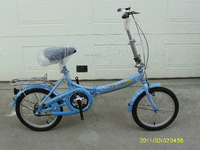 16 folding bicycle