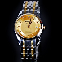 Ruidesen sports casual fashion mens watch back through the steel watch fully-automatic mechanical watch
