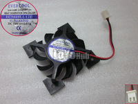 Free Shipping FOR Colorful EC5010LL12E graphics card fan pitch 4.0cm diameter 4.5cm 2wire