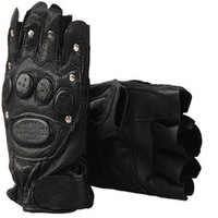 Tactical gloves semi-finger outdoor products slip-resistant ride sports gloves male rivet gloves