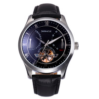 New arrival watch mechanical watch flywheel table fully-automatic mechanical revealed at strap mens watch energy