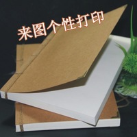 Free shipping Vintage cowhide paper represatation this notebook notepad diy handmade tsmip sketchblock  in  stock