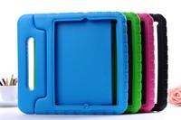 20pcs/lot Wholesale Children Kids Safe Soft Foam EVA Handle Stand Cover Case For iPad Mini &iPad Mini 2 Mini2