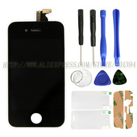100% Guarantee OEM Display For Iphone 4S LCD with Digitizer Touch Screen HK Post Free Shipping