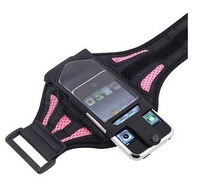 1PC Pink Sport Running Workout Waterproof Holder Case for iphone 4 4s, Free Shipping