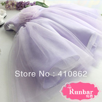 Flower girl formal dress female child princess dress purple costume child dress princess dress girl chothing free shipping
