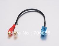 Blaupunkt Aux cable 2RCA Female car audio parts audio cable BLA-2RF