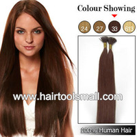 "18"" 20"" 22"" Keratin Stick Virgin Remy Hair I Stick I Tip Human Hair Extensions 100s/pack #33 color"