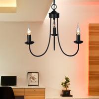 Brief candle lamp pendant light fashion iron lamp art pendant light 9005