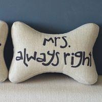 Bone Travel Seat Neck Rest Headrest Pillow Cushion 1 Pcs Mrs Always Right PQ814