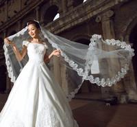 bride wedding veil big lace lace long veil 3 meters, 5 meters long trailing veil 10 meters veil  free ship!