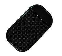 FREE SHIPPING 3PCS Multi-functional Auto Anti-slip pad Black Rubber Mobile Sticky Dashboard Mat #23066
