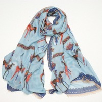 wholesale multi-fuctional EU US brand star Model Women's accessories fashion scarf silk scarf cape long design  free shipping