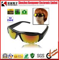 free shipping HD 720 video camera eyewear glasses mini dvr camera