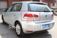 Free Shipping 2010-2012 Volkswagen Golf MK6 ABS Chrome After headlight Lamp Cover