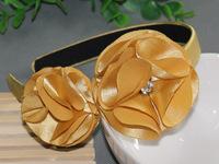 Diamond flower girl headband, free shipping