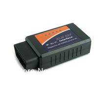 New 2013 Wi-Fi wifi ELM 327 ELM327 OBD 2 II Car Diagnostic Interface Scanner Free Shipping Dropshipping