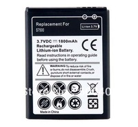 Wholesale  Rechargeable Replacement 1800mAh Lithium Battery for Samsung Galaxy Ace Plus S7500  Free Shipping
