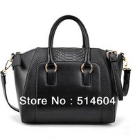 Fashion Woman Handbags Lady Faux Leather OL Style Tote Messenger Cross Body Bag shopping bag
