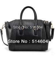 Fashion Woman Handbags Lady Faux Leather OL Style Tote Messenger Cross Body Bag shopping bag Free Shipping