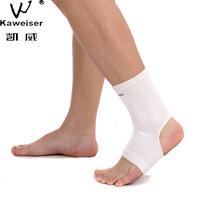 Hywell 0842 high-elastic white knitted ankle support beam sets sports ankle support dykeheel