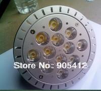 sample testing par38 par38 energy saving lamp par38 bulb 12*1W 3000K color temperature free shipping
