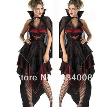 Halloween witch cosplay costumes, witch performance clothing, modern Halloween party costumes