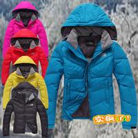 2014 winter new women  brand fashion  down jacket, female  duck down coat, waterproof outdoor clothing free shipping