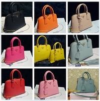 FREE SHIPPING 2013 New Women Mini shell handbag genuine leather famouns designers brand fashion bag shoulder bag totes handbag