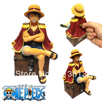 3D One Piece Luffy Treasure Kids Toys Gift Polyrsein Material steal coin piggy bank kitty saving money box coin bank money bank
