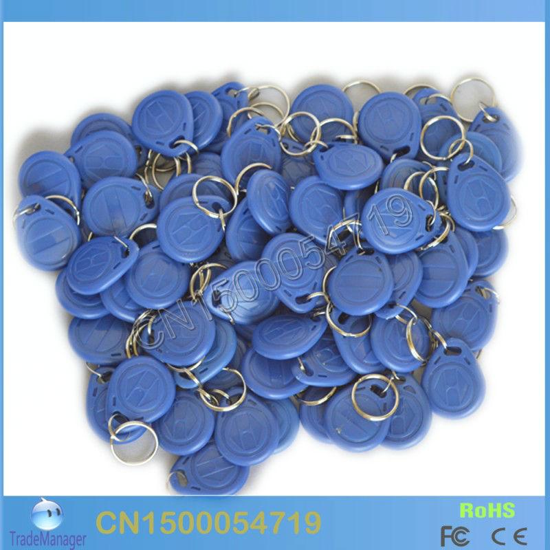 Free shipping (10PCS/Lot) Re_Writable LF/125Khz Smart RFID T5567/T5557/T5577 Cards / Tags / Keyfobs(China (Mainland))