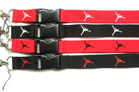 Hot Free shipping  60pcs Sports  Fashion Popular logo lanyard  Phone Lanyard key chains Neck Strap Wholesale