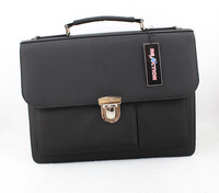 Man bag black commercial shoulder bag messenger bag briefcase male a4 backpack