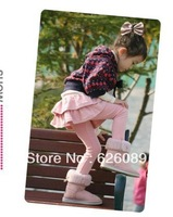 2013 winter all-match girls clothing plus velvet thickening thermal legging trousers girls pant