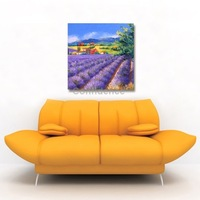 Landscape Style Home Decoration Art Pictures/Wall Paintings on UV Print for Kitchen/Dining Room/Bed Room,Size 30x30cm DIY Design