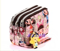 Casual nylon women's handbag cosmetic bag coin purse HARAJUKU doll coin purse mini bag