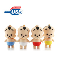 Baby Cartoon Hi-Speed Real 2G 4G 8G 16G U Disk USB Flash 2.0 Memory Drive Disk Stick Pen, Retail Packing, Free Shipping!