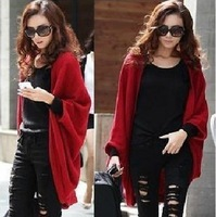 New 2013 Woman's shawl Autumn female sweater female cardigan long thin shoulder width plus size big outerwear S L M Freeshipping