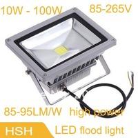 10W 20W 30W 50W led flood light 85~265V LED luminaire light LED search light  outdoor lamp