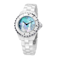 Vetoo watch ceramic table white ladies watch white Women