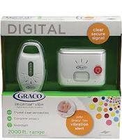 Gray graco baby monitor wireless baby monitor intercom mother good tool