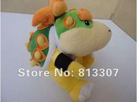 """5pcs Super Mario bros plush toys 6"""" int Koopa Bowser dragon plush doll Brothers Bowser JR soft Plush"""