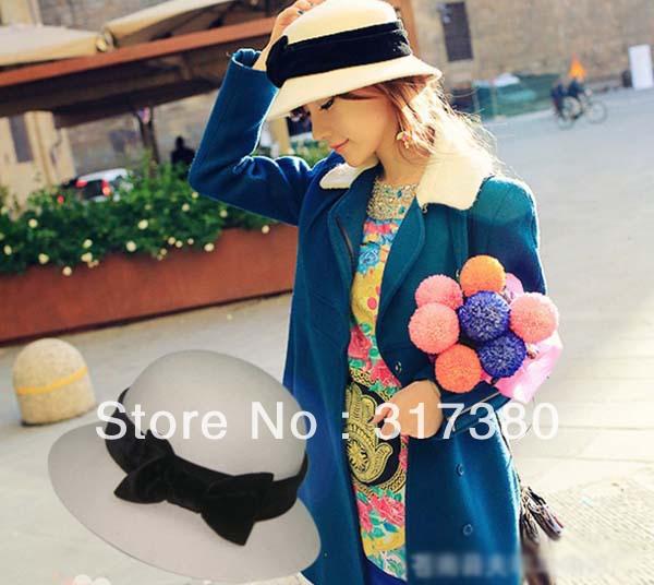 Женская фетровая шляпа 10 2015 Cloche Fedora женская фетровая шляпа brand new 2015 fedora cloche hat cap 6 bm890