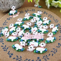 FreeShipping 50 PCS/Lots DIY Very Hot and Kawaii Clear Resin Flatback Christmas   cabochons