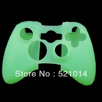 Free Shipping New Silicone Protector Skin Case Cover for Xbox 360 Xbox360 Game Controller