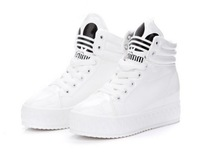2013 new Korean version of Women's casual shoes Heavy-bottomed platform shoes high help  Sports shoes